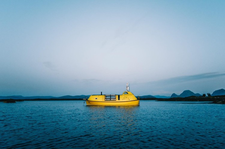 Two Young Architects Redesign a Lifeboat to Sail the Arctic, Courtesy of David Schnabel