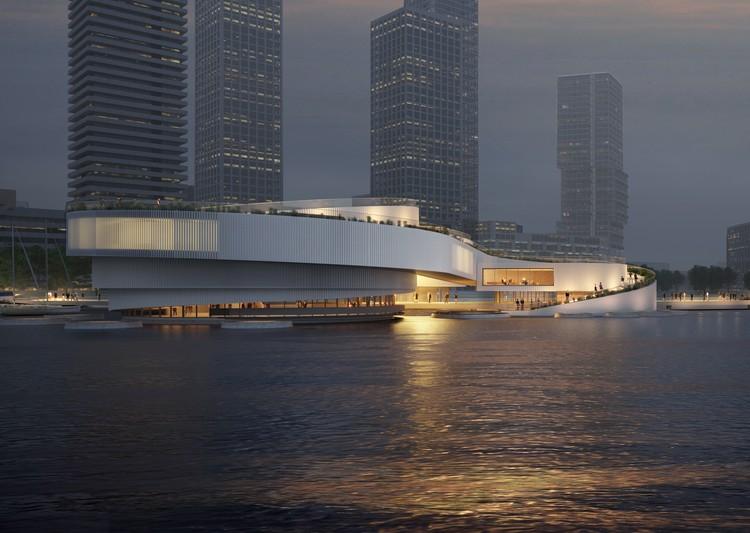 Mecanoo projeta novo Centro Marítimo em Roterdã, © RED Company