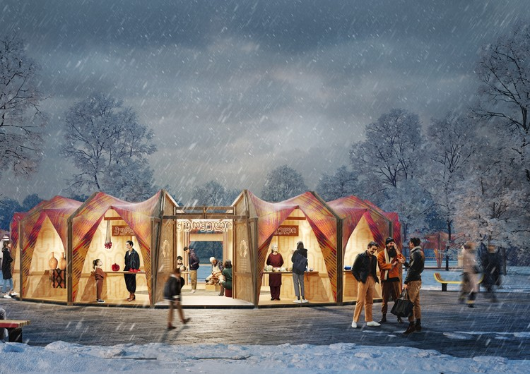 Winning Designs Announced for Friendship Park Competition in Armenia, Courtesy of IND Architects