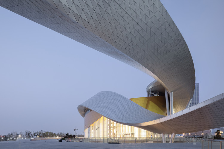 Gran teatro de la Bahía de Suzhou / Christian de Portzamparc, © Feng Shao