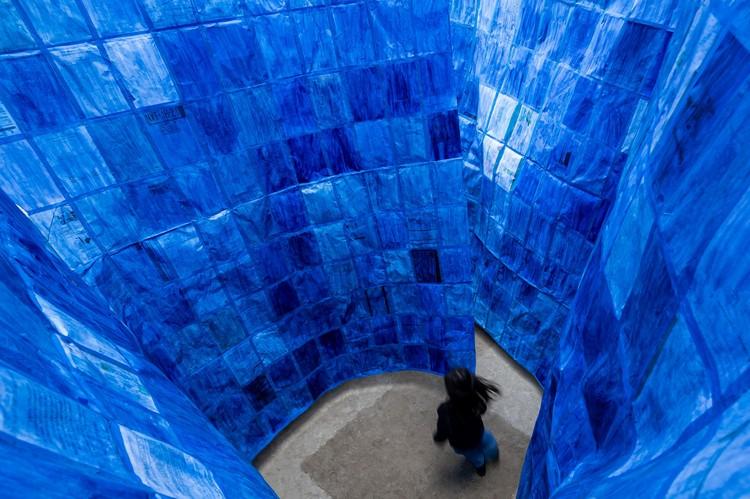 """PALMA presenta """"Vacío"""", una instalación temporal en la Ciudad de México, © Luis Young"""