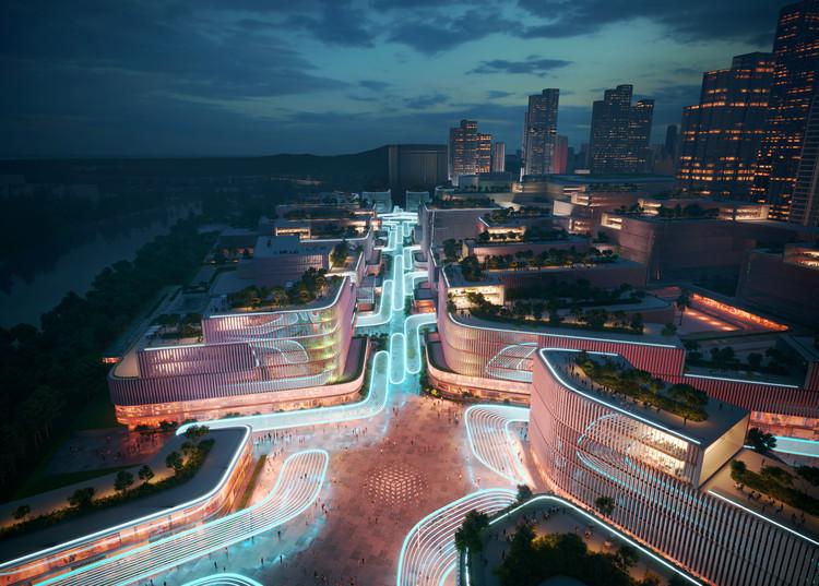 Zaha Hadid Architects requalifica área portuária de Shenzhen, China, Cortesia de Zaha Hadid Architects