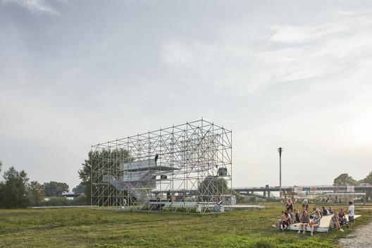 Sava Installation / Openact Architecture + Sara Palomar Studio. Image © Marko Mihaljević