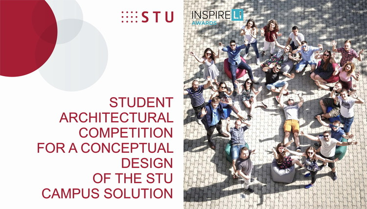 Student Architectural Competition for a Conceptual Design of the Slovak University of Technology in Bratislava, Inspireli Awards - STUDENT ARCHITECTURAL COMPETITION FOR A CONCEPTUAL DESIGN OF THE STU CAMPUS SOLUTION