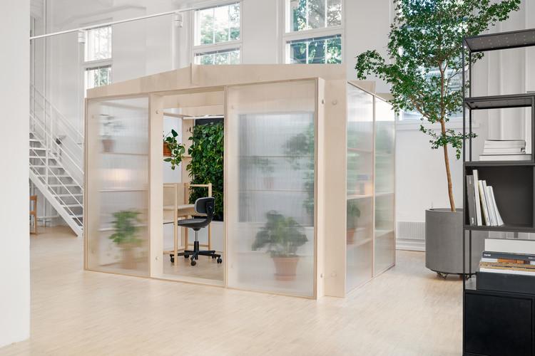 Espacio de oficina Naava Oasis / Fyra, © Riikka Kantinkoski
