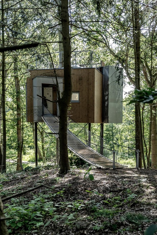 Treetop Hotel Løvtag Denmark / Sigurd Larsen