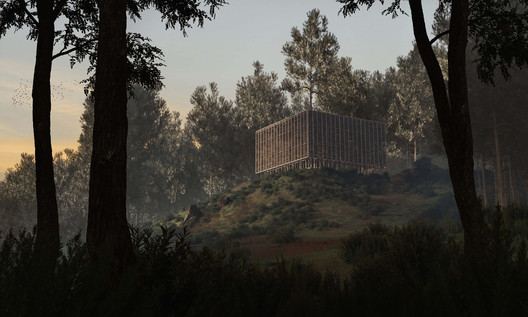 Architecture and Nature Come Together in Secluded Earth Chapel