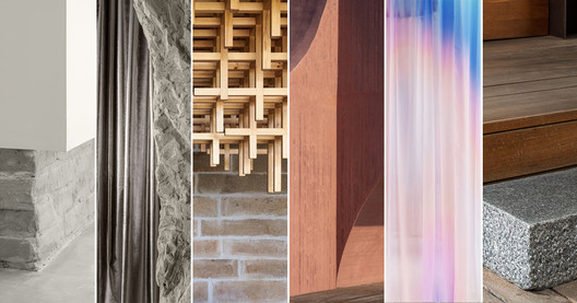 Materials that Shaped the Most Iconic Homes, Interiors and Public Buildings of 2020