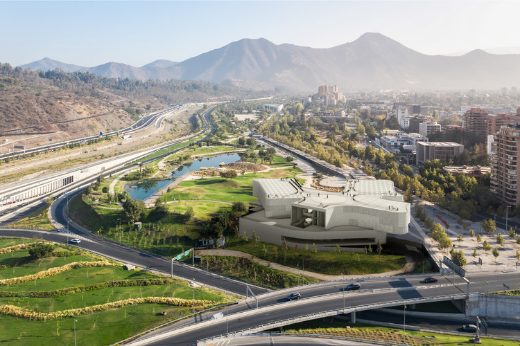 Cristian Fernandez-Led Team to Design NUMU, the New Museum of Santiago de Chile, First Place: Cristián Fernández. Image Courtesy of Fundación Engel