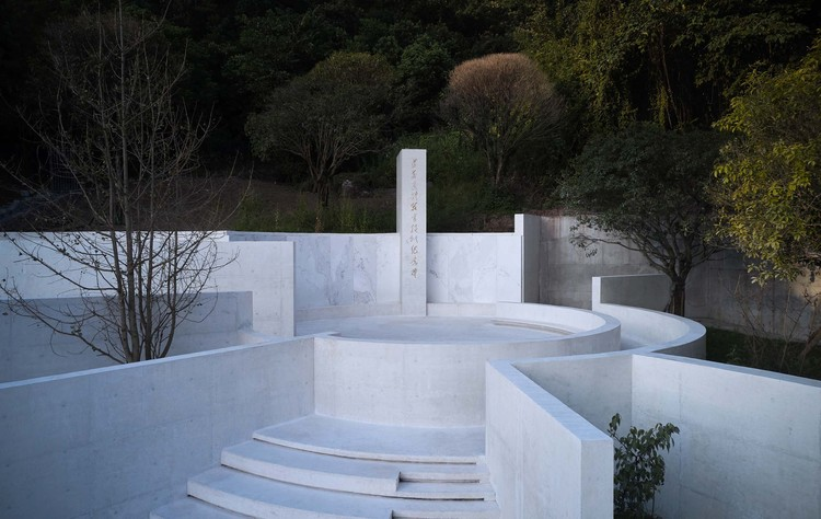 Zunyi Memorial to the Body and Organ Donors / TJAD Atelier L+ Studio, the monument becomes a micro-place. Image © ZY Architectural Photography