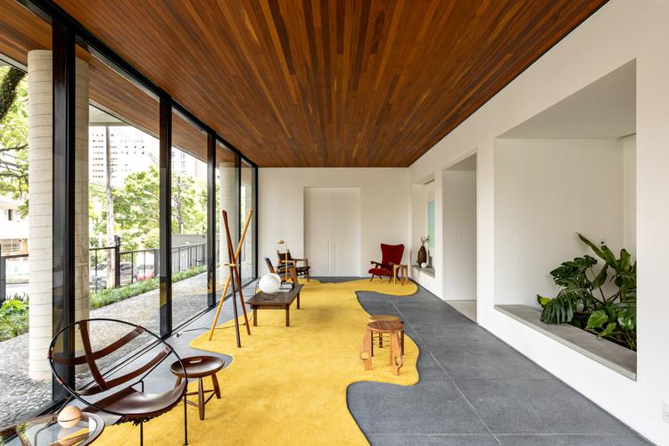Interiores Edifício Dsenho / Leandro Garcia, © Fran Parente