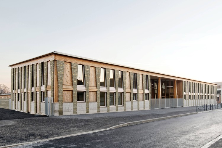 'Val de Scarpe' Education Center / Guillaume Ramillien Architecture + Boris Bouchet Architectes, © Pascal Amoyel