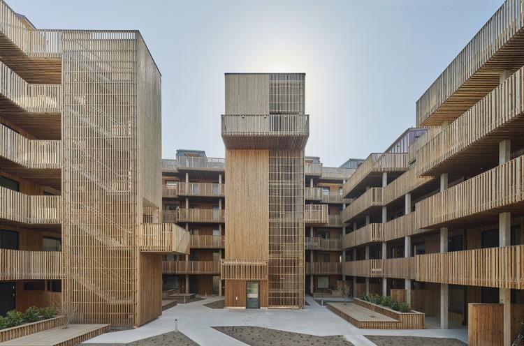 Qvillestaden Apartment Building / Bornstein Lyckefors, © Åke E:son Lindman