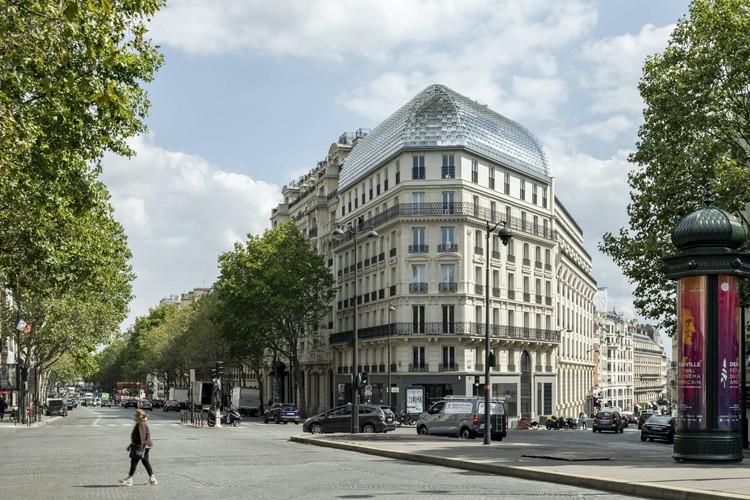 Complejo de oficinas 175 Haussmann / PCA-STREAM, © Salem Mostefaoui