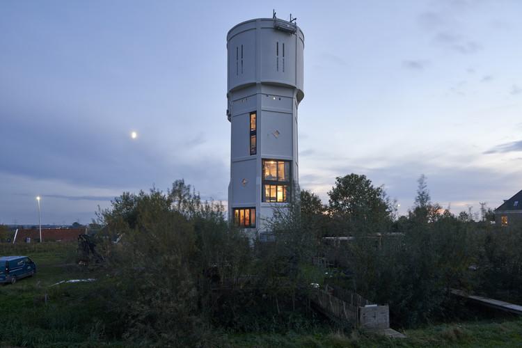 Transformation Watertower Nieuw Lekkerland / RV Architecture, © René de Wit