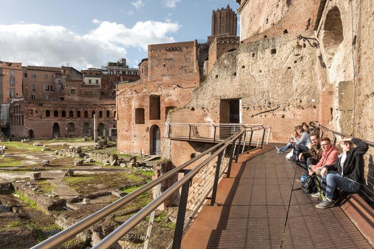 Rehabilitation of Roman Tabernae in the Trajan's Market / Labics, © Marco Cappelletti