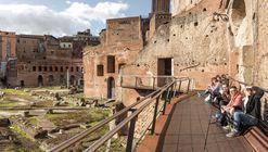 Reabilitação de Taberna Romana no Mercado de Trajano  / Labics