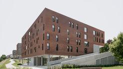 Social Housing Klein Rijsel / Abscis Architecten + A2D