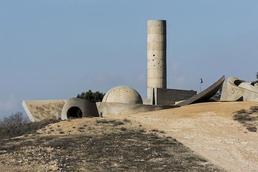 Negev Brigade Monument - Dani Karavan (1963-1968). Image © Stefano Perego