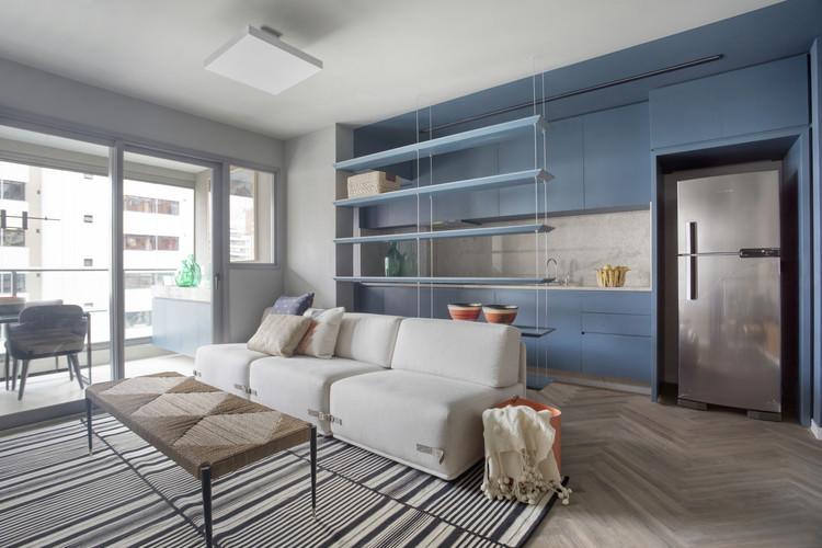 Apartamento Chez Vous / Talita Nogueria Arquitetura, © Denilson Machado – MCA Estúdio