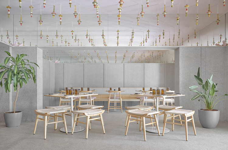 Lucky Chan Restaurant / MAIA Design Studio, © Gokul Rao Kadam