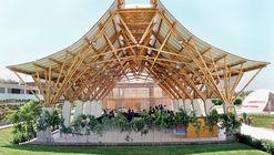 Auditório de Bambu / Instituto de Vivienda, Urbanismo y Construcción de la USMP