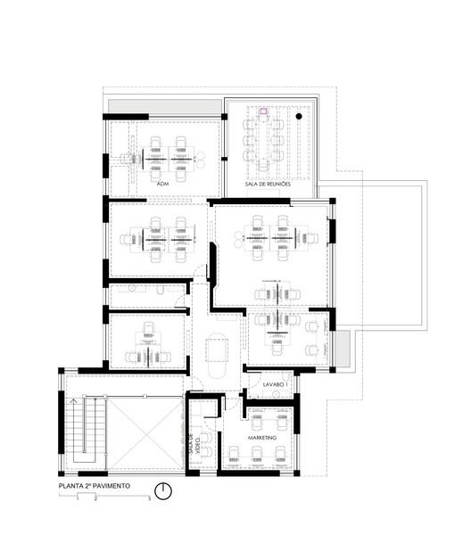 Plan - Second floor plan