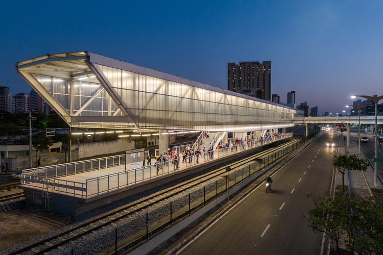 Fortaleza Subway Extension / Fernandes Arquitetos Associados, © Pedro Mascaro