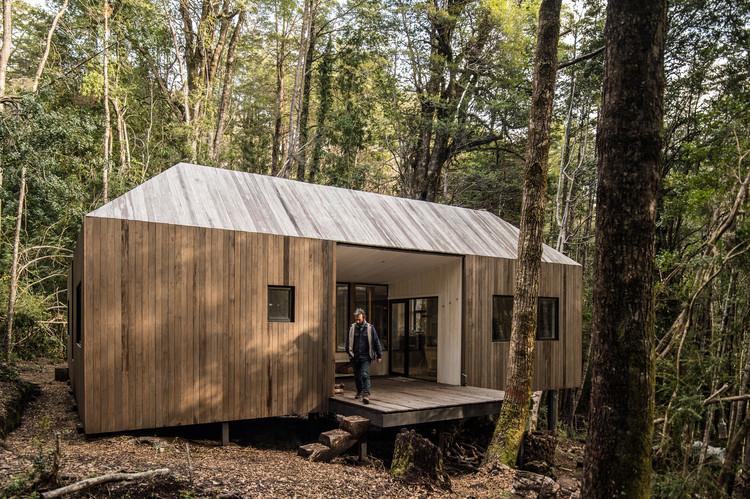 Refugio Impluvio / SAA Arquitectura + Territorio, © Esteban Arteaga