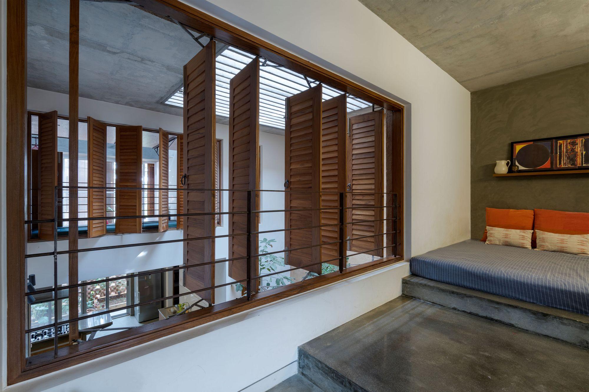 Galeria De Residencia Arranjo De Tijolos Greyscale Design Studio 4