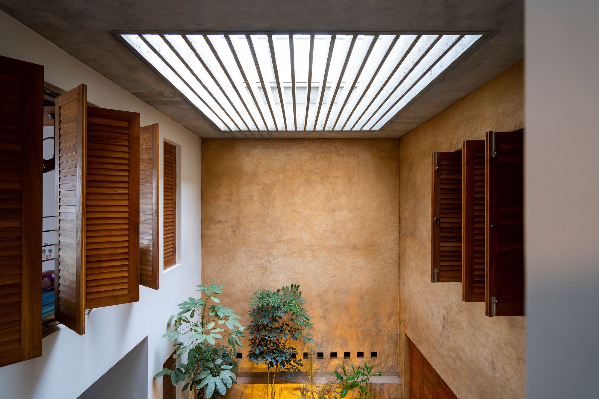 Galeria De Residencia Arranjo De Tijolos Greyscale Design Studio 7