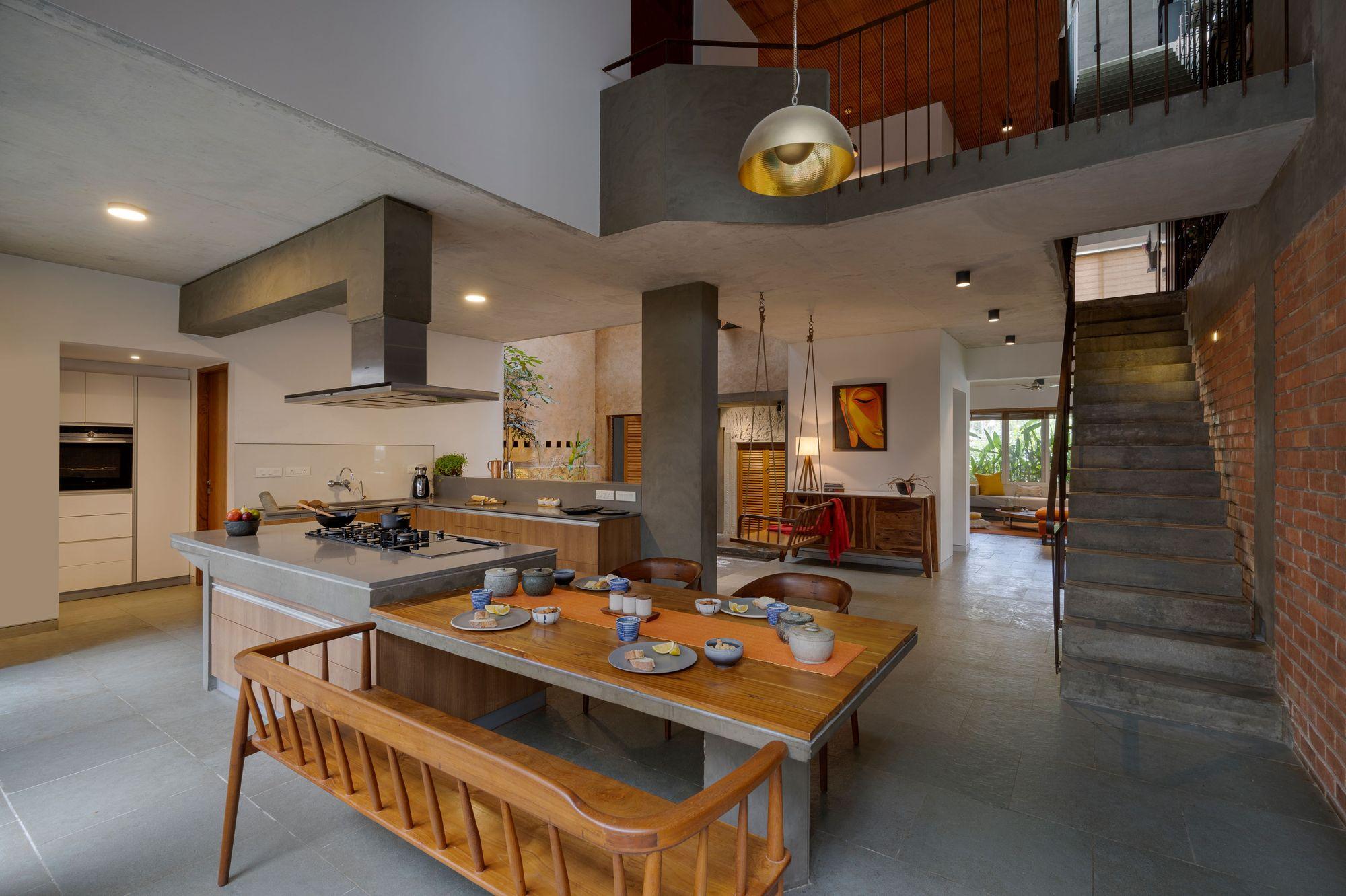 Galeria De Residencia Arranjo De Tijolos Greyscale Design Studio 3