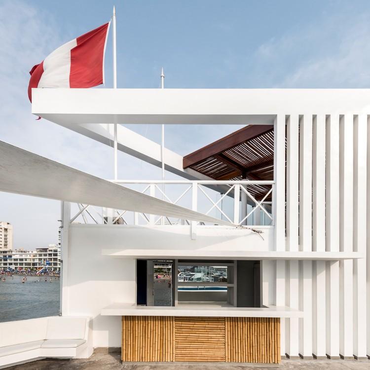 CNA's Restaurant-Viewpoint and Bar / MdA Arquitectura, © Renzo Rebagliati