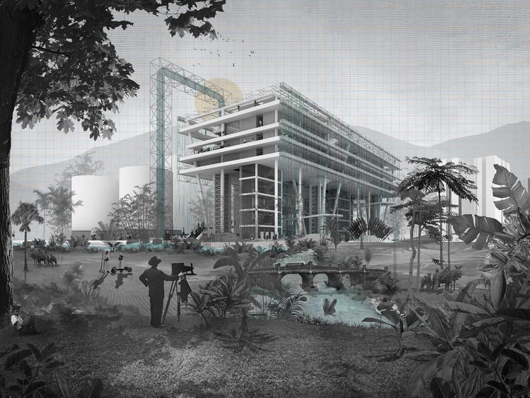 Ganadores de la IV Bienal Colombiana de Estudiantes de Arquitectura, Infraestructuras del agua / Estrategias para el buen manejo de los recursos hídricos. Image Cortesía de Juan Pablo Zuleta Álvarez