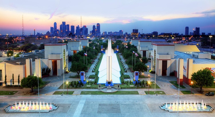 Studio-MLA projetará a nova transformação do Fair Park em Dallas, Fair Park. Cortesia de Fair Park First