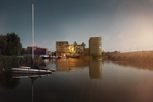 SeARCH Designs Sustainable Timber Housing for Amsterdam's Haveneiland Island