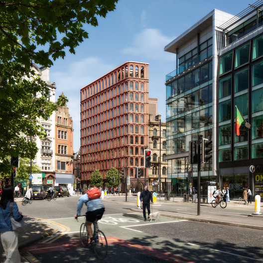 FCBStudios Unveils Design for Manchester Piccadilly Hotel