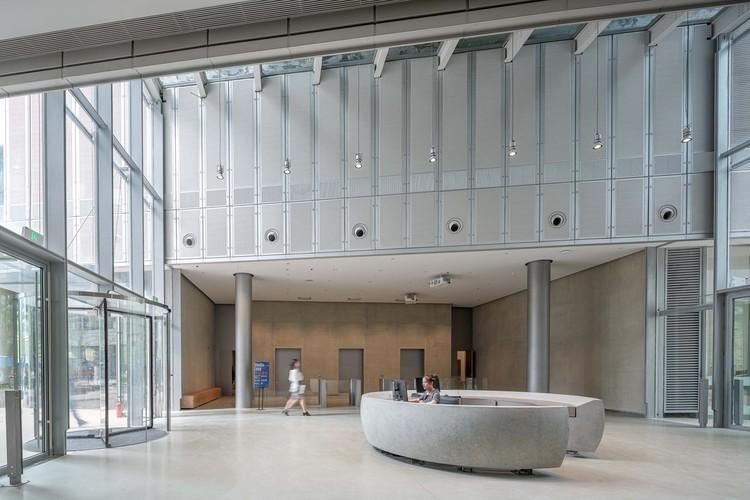 GOA Headquarters / goa, 1F lobby. Image © goa