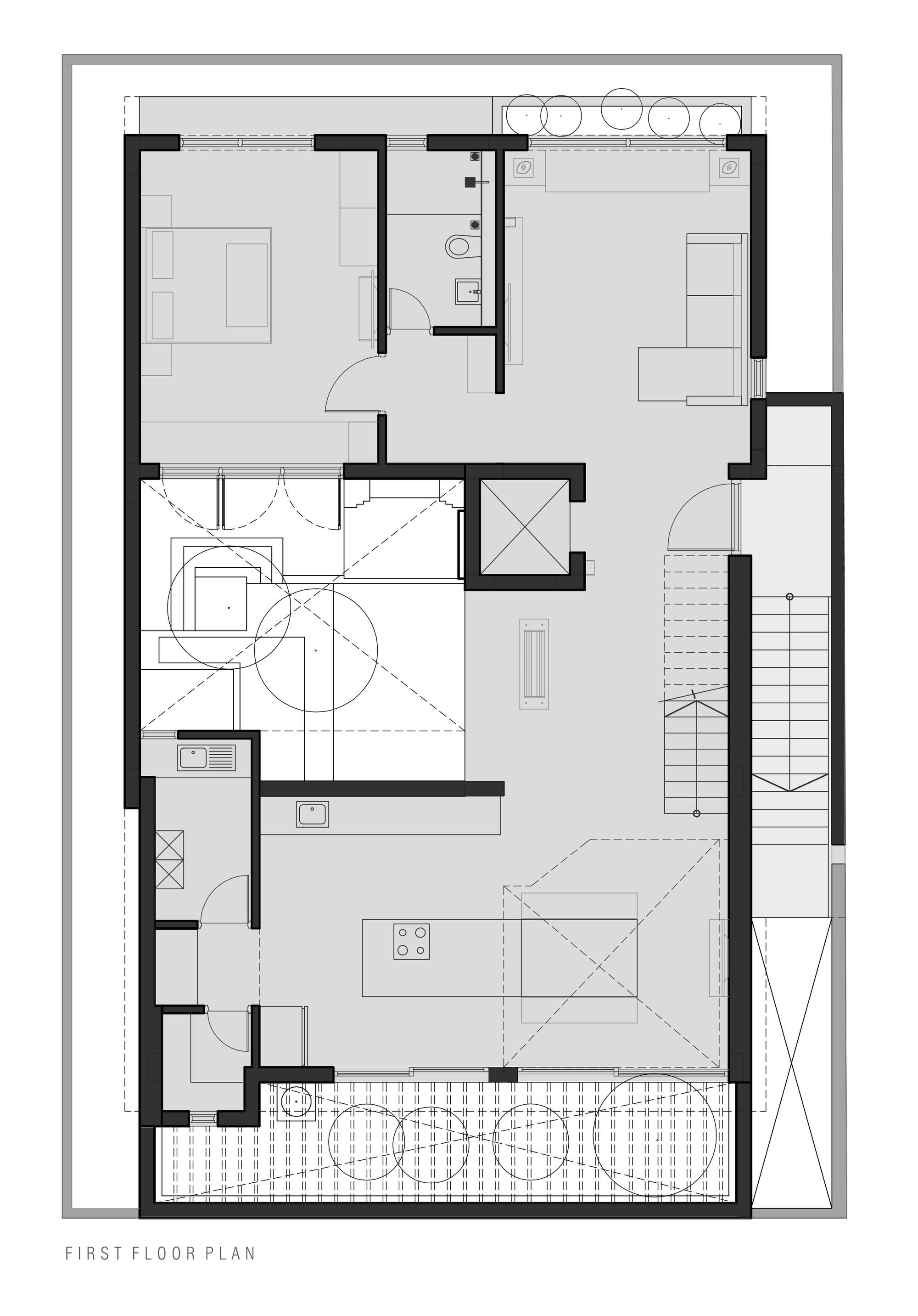 Galeria De Residencia Arranjo De Tijolos Greyscale Design Studio 22
