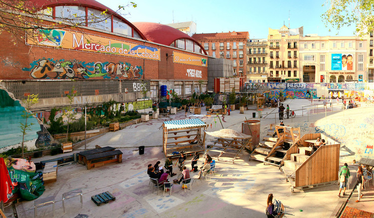 What Is Open-Source Urbanism?, © El Campo de Cebada