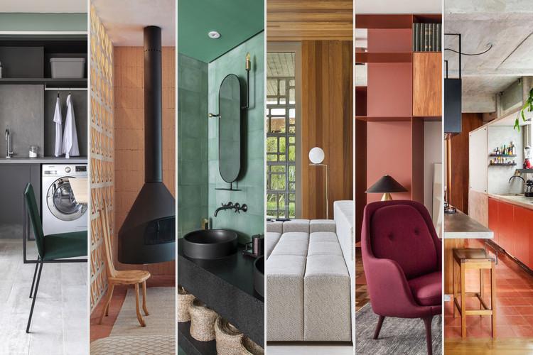 22 Tendências no design de interiores brasileiro para 2021, Colagem desenvolvida por Matheus Pereira