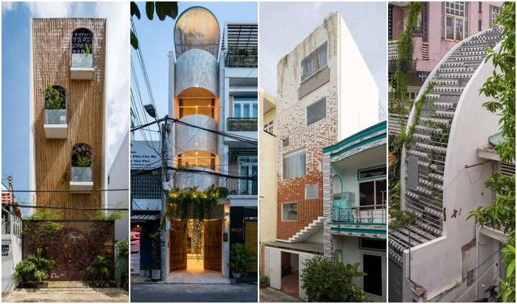 Casas Tubo: 15 proyectos que reinterpretan las viviendas estrechas de Vietnam