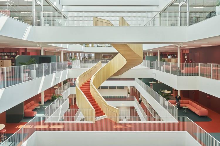 Campus da Universidade de Mälardalen Eskilstuna / AIX Arkitekter + 3XN, © Åke E:son Lindman