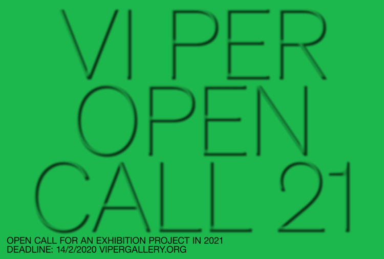 Open Call for an Exhibition Project at VI PER Gallery in Prague in 2021, VI PER Gallery Open Call for 2021