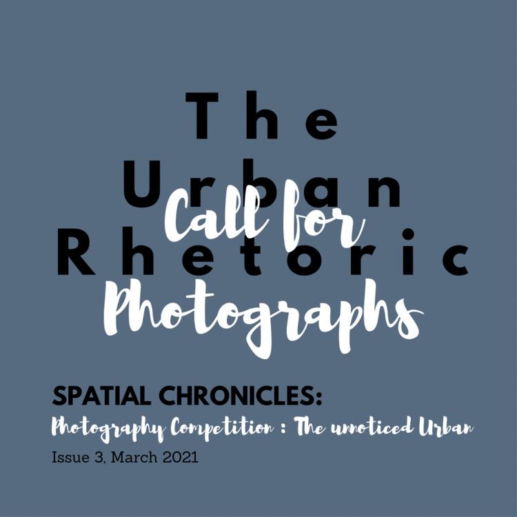 Call for Photographs: The Un-noticed Urban, The un-noticed urban