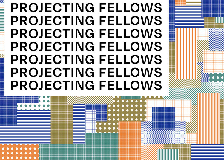 Projecting Fellows Virtual Symposium, Art Direction & Graphic Design by Chris Cote