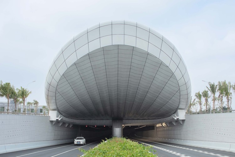 Haikou Wenming East Road Tunnel / Penda China, © Zhi Xia