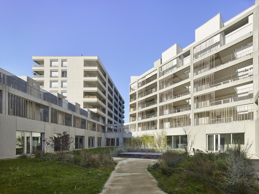 Sporting Overview Residential Complex / Taillandier Architectes Associés