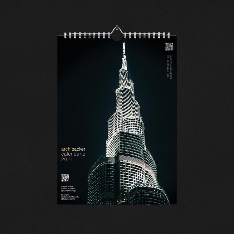 Calendários 2021 | Coleção Archipacker, Capa do Calendário 2021 Archipacker