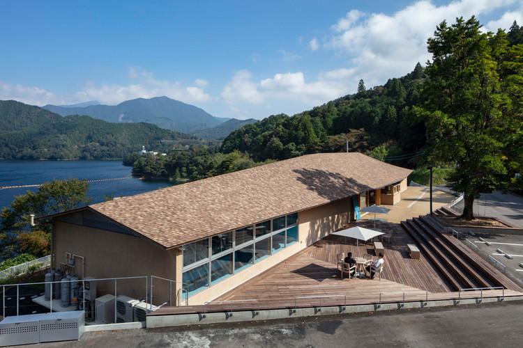 Sameura Canoe Terrace / TA+A + Wakuda Kosuke Architects + Sanai Architects, © Shigeo Ogawa